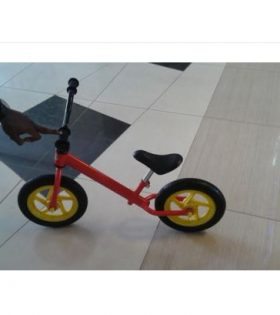 Progear Kids Balancing Bike Yellow RedÊ