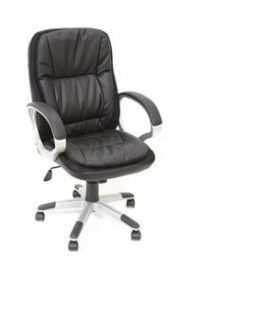 High back deco leather chair ACB126