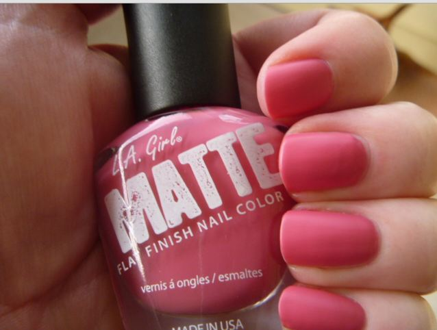 Baby Pink LA Girl Matte Finish Nail Color – Fargo Shopping
