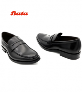 Stylish Men Formal Shoes Black 6-Bata Kenya