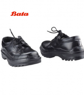 School Shoes-Unisex-Black 4-