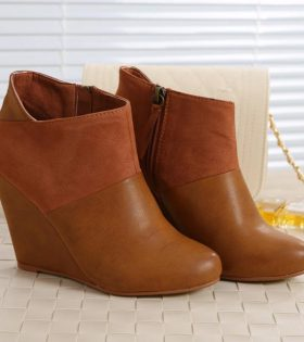 Brown Ladies Shoes - High Heels