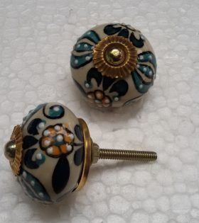 Ceramic Hand painted knob