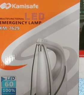 Kamisafe Multifunctional LED Emergency Lamp.Mains and Solar Rechargeable