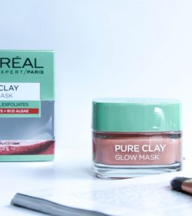 L'Oreal Paris Pure Clay Glow Mask- 50ml