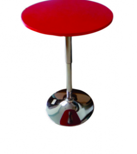 Neon Red Bar Table
