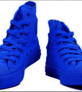 Blue Converse Shoes