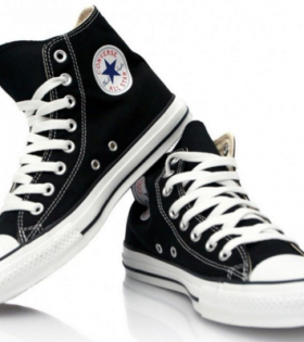 Converse Shoes - Black and White