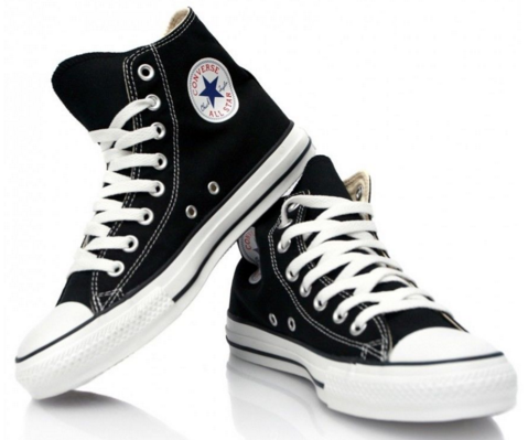 322602d911b4 Converse Shoes - Black and White - Fargo Shopping