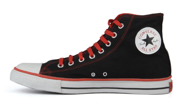 d58cfe8a87f Converse Shoes - Black and Red - Fargo Shopping