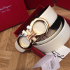 Salvatore Ferragamo Belt - White