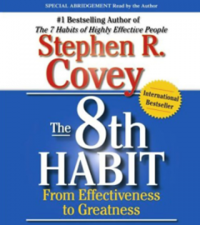 8TH HABIT Book by Stephen R. Covey