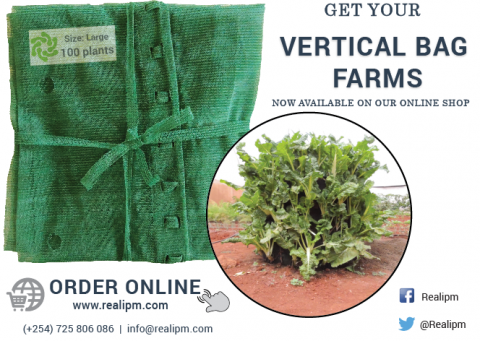 Large Vertical Bag Farms