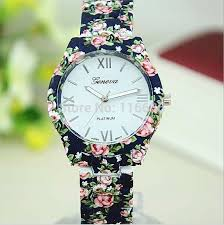 Geneva Floral watches