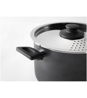 IKEA cooking pot with lid and sieve