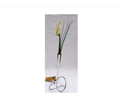 Black and Blum Loop Metal Flower Holder