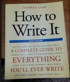 How to Write it - Sandra E. LambÊ
