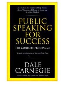 Public Speaking for Success - Dale CarnegieÊ