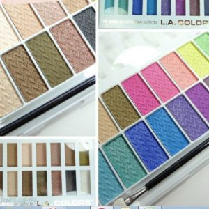 12 Color Eyeshadows-LA Colors