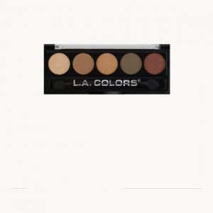 5 Color metallic Eyeshadows-LA Colors
