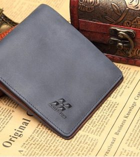 Haut-ton Mens Wallet - Dark Grey