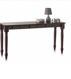 Anita – Wooden Console Table - Brown