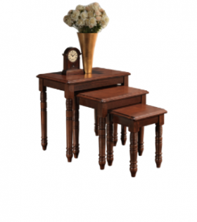 Arum – Nesting Table Set – Brown