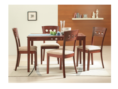 Liana Dining Set 5pc Set