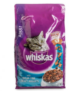 Whiskas with ocean fish and meaty nuggets - Adults