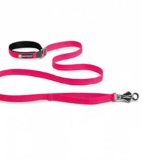 Ruffwear Flat Out Leash for Pets, Wildberry