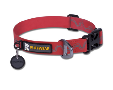 Ruffwear HeadWater Collar- Red Medium