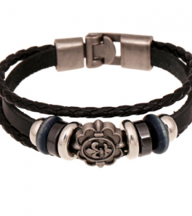 VintageLeather Bracelet - Casual Wear