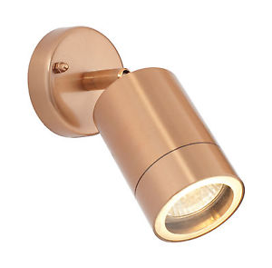 Exterior Adjustable Wall/ Ceiling Light/ Copper Finish