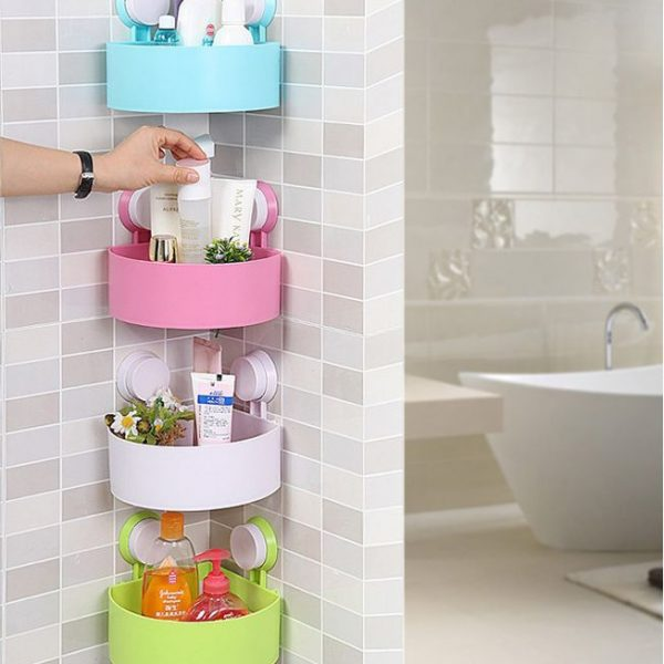 Set of 4 Bathroom Caddy organizer/ Shampoo Holder – Fargo Shopping